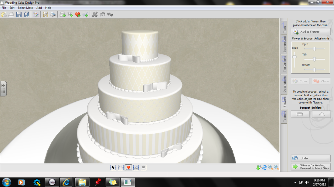 Cake Design Download : Bridal - Knockout Cakes!
